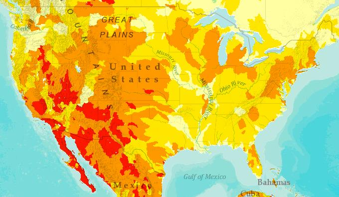 Agriculture - Overall Water Risk