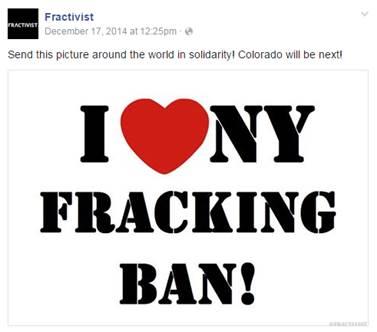 I heart NY fracking ban