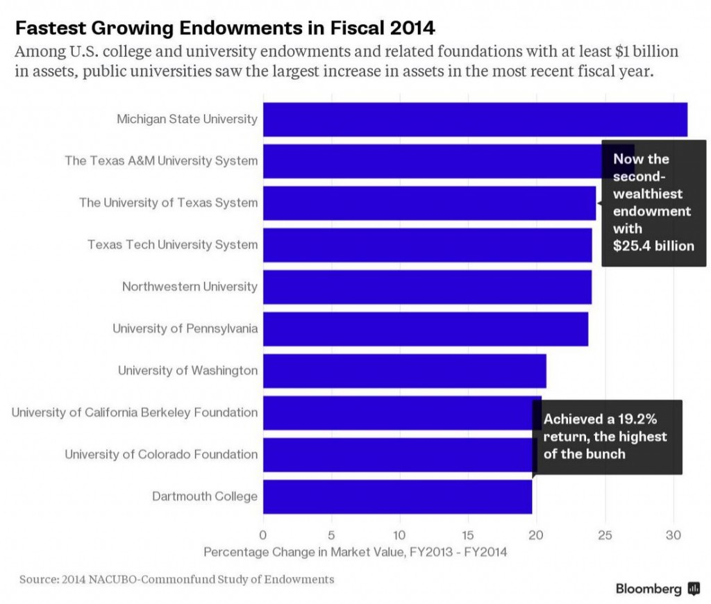 endowments chart