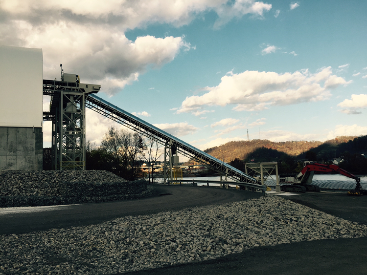 MPR Supply Chain Solutions showed EID the new state-of-the-art sand transportation loading operations in Belmont County.