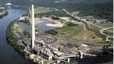 Retired Coal Plant: First Energy's Burger Plant in Belmont County as it stands today.