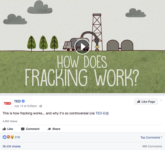 While a Step in the Right Direction, TED's Fracking Video Misses on Major Issues