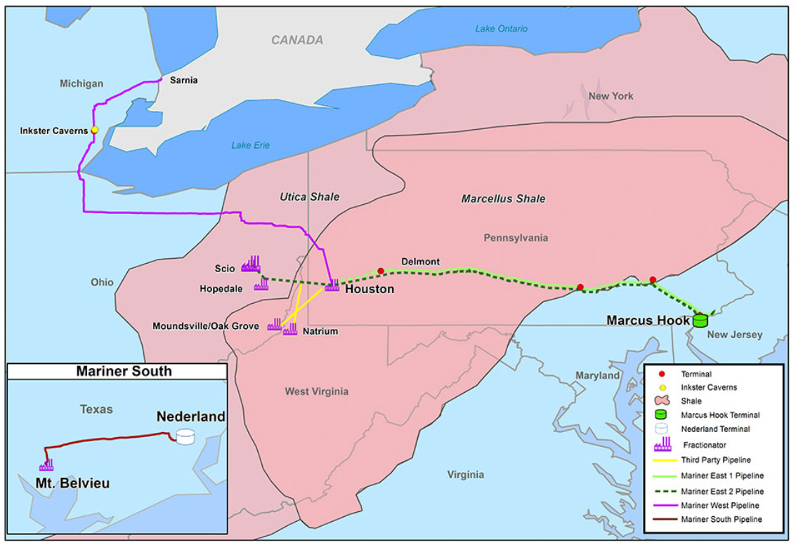 Analysis: Mariner East Projects' Total Economic Impact More